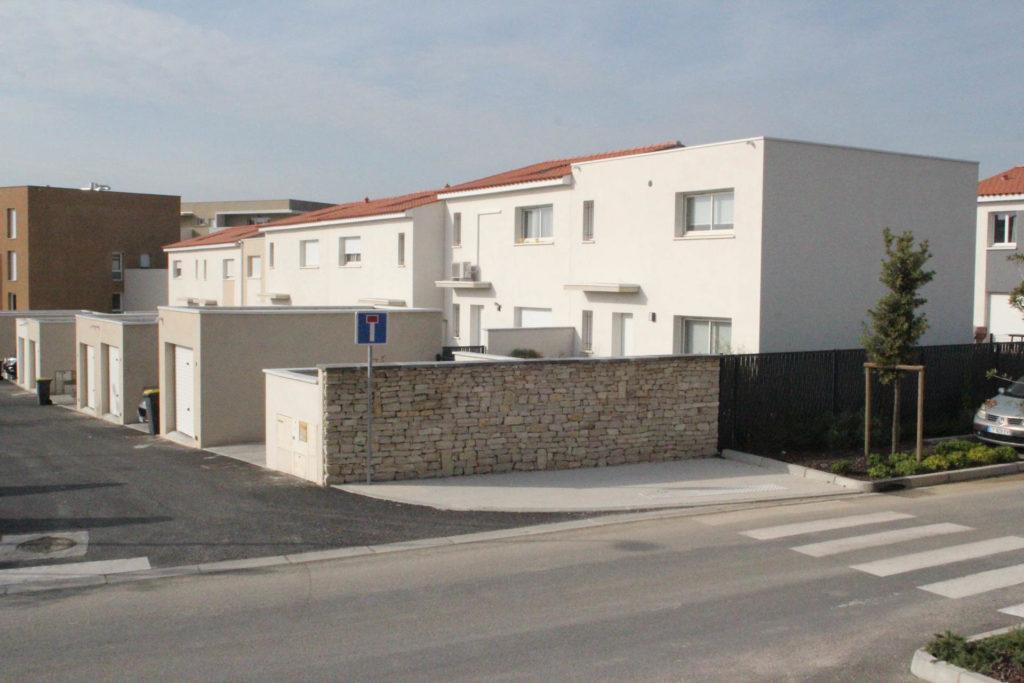 Photo du Hameau des Bragottes à Pignan terminé